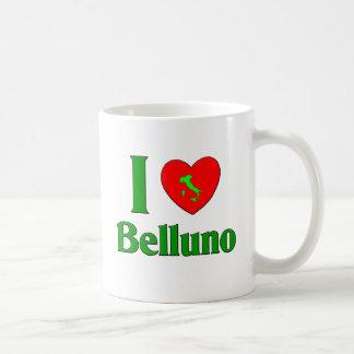 Amo Belluno Italia Tazas De Café
