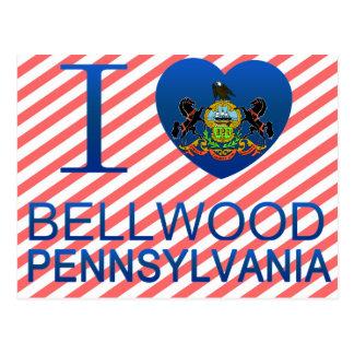 Amo Bellwood PA Tarjeta Postal
