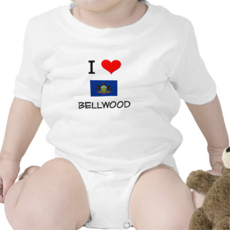 Amo Bellwood Pennsylvania Camisetas