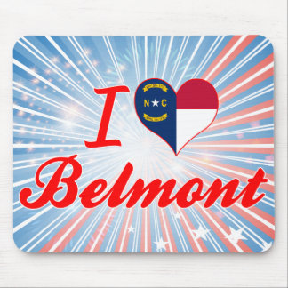 Amo Belmont, Carolina del Norte Tapete De Raton
