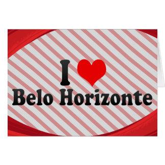 Amo Belo Horizonte el Brasil Felicitacion