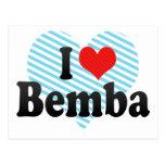 Amo Bemba Tarjeta Postal
