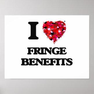 Amo beneficios complementarios póster