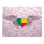 Amo Benin - alas Postales