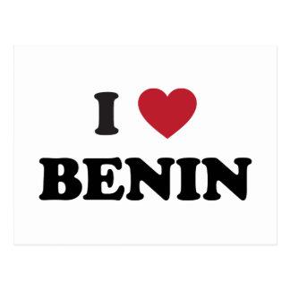Amo Benin Tarjetas Postales