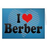 Amo Berber Tarjetón