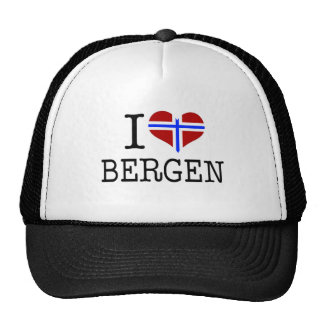 Amo Bergen Gorro De Camionero