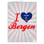 Amo Bergen, Wisconsin Tarjeton