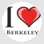 Amo Berkeley Pegatinas