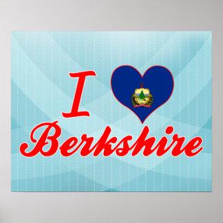Amo Berkshire, Vermont Posters