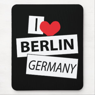Amo Berlín Alemania Tapete De Ratones