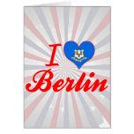 Amo Berlín, Connecticut Felicitación