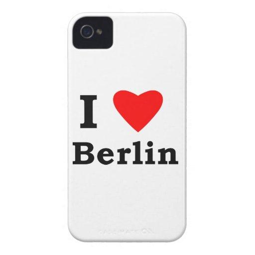 Amo Berlín Case-Mate iPhone 4 Cárcasas