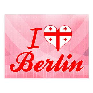 Amo Berlín, Georgia Tarjeta Postal