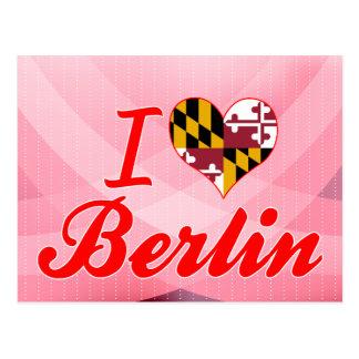Amo Berlín, Maryland Postales