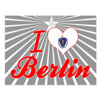 Amo Berlín, Massachusetts Postales