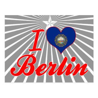Amo Berlín, New Hampshire Postales