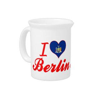 Amo Berlín, Nueva York Jarra De Beber