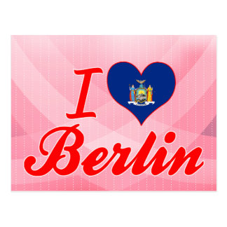 Amo Berlín, Nueva York Postales