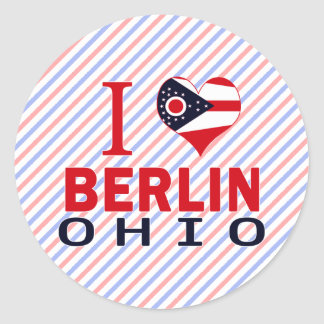 Amo Berlín Ohio Pegatina