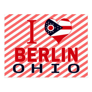 Amo Berlín, Ohio Tarjetas Postales