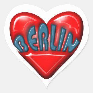 Amo Berlín Pegatina En Forma De Corazón