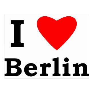 Amo Berlín Postal
