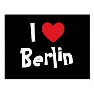 Amo Berlín Tarjetas Postales