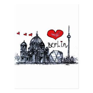 Amo Berlín Postales