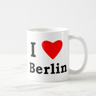 Amo Berlín Taza Básica Blanca
