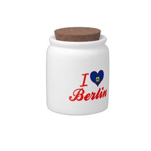 Amo Berlín, Vermont Jarras Para Caramelos