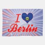 Amo Berlín, Vermont Toallas De Mano