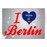 Amo Berlín, Wisconsin Felicitacion