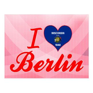 Amo Berlín, Wisconsin Tarjeta Postal
