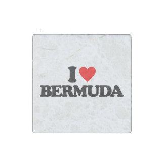 AMO BERMUDAS IMÁN DE PIEDRA