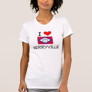 Amo BERRYVILLE Arkansas Camisetas
