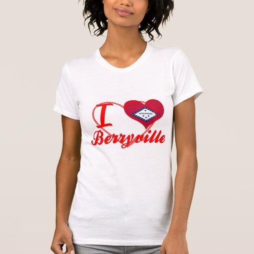 Amo Berryville, Arkansas Camisetas