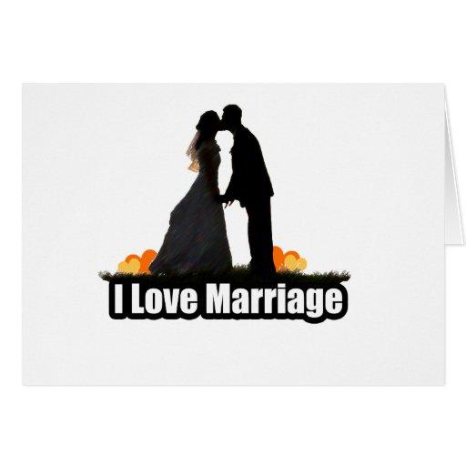 Amo beso de la boda la novia tarjeton