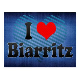 Amo Biarritz, Francia Tarjetas Postales