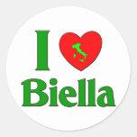 Amo Biella Italia Etiqueta