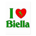 Amo Biella Italia Postales