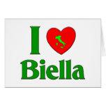 Amo Biella Italia Tarjetón