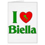 Amo Biella Italia Tarjeton