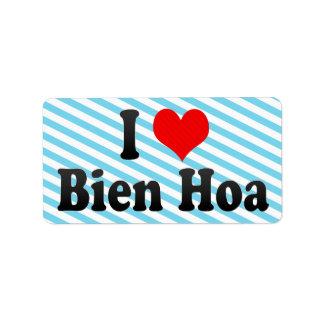 Amo Bien Hoa Vietnam Etiqueta De Dirección