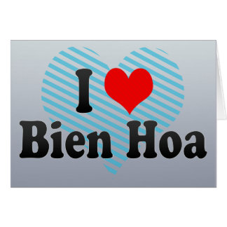 Amo Bien Hoa Vietnam Tarjeta