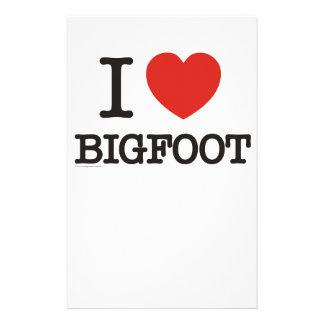 Amo Bigfoot Papeleria De Diseño