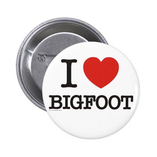Amo Bigfoot Pin Redondo 5 Cm