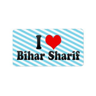 Amo Bihar Sharif, la India Etiquetas De Dirección