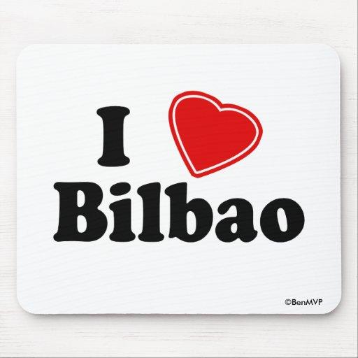Amo Bilbao Alfombrilla De Ratón