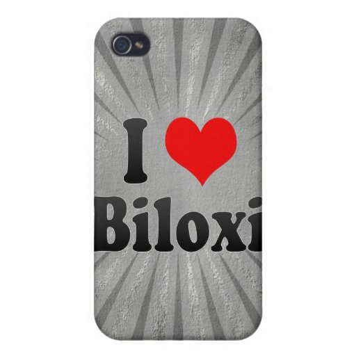 Amo Biloxi, Estados Unidos iPhone 4 Protectores